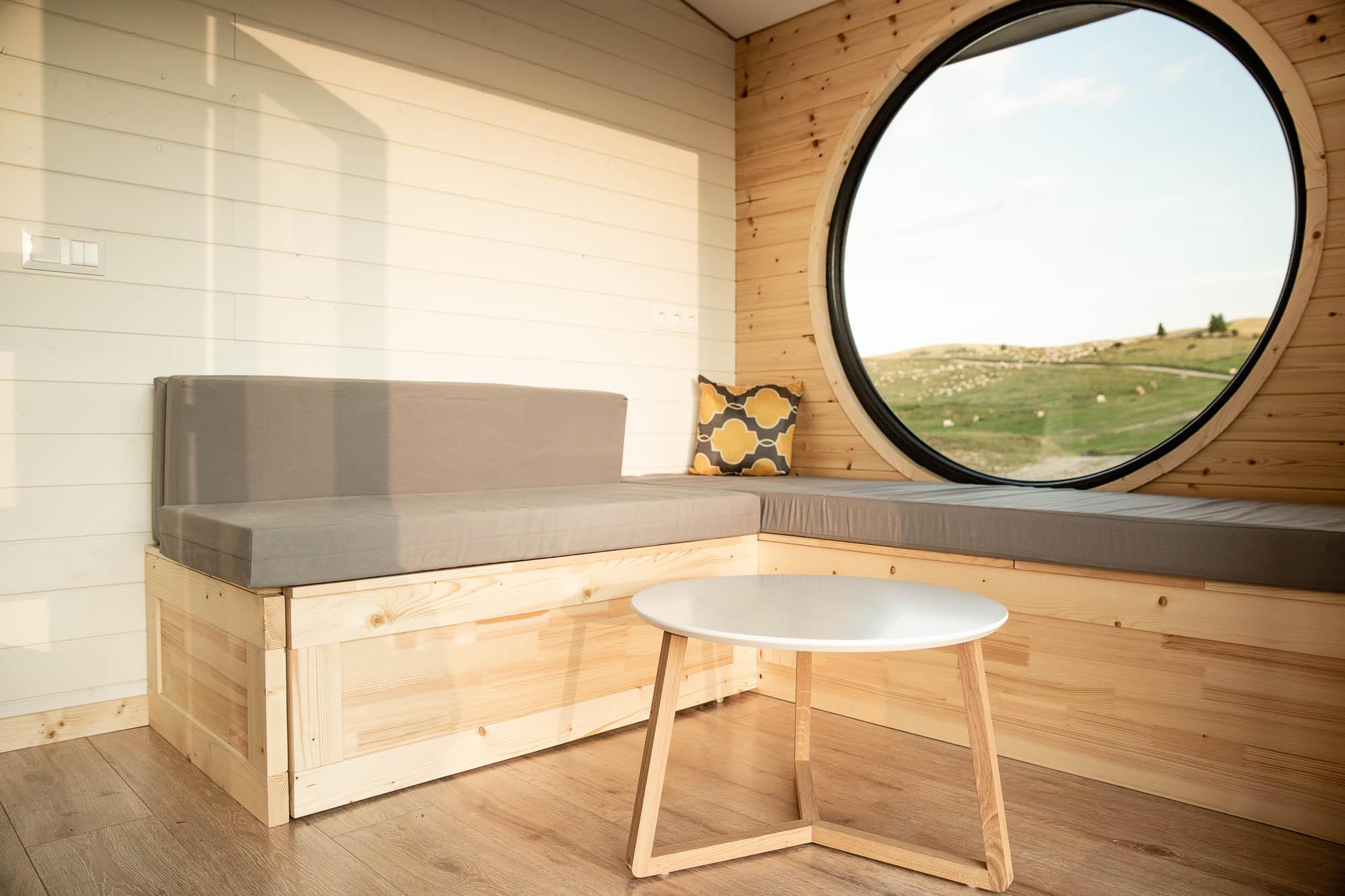 minimalistisches Leben im Tiny House